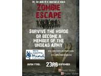 Zombie Escape Obstacle Charity Run