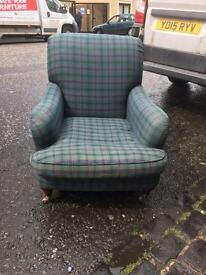 Marks & Spencer tartan armchair * free furniture delivery *