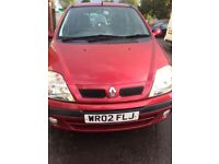 Manual, petrol Renault scenic for sale