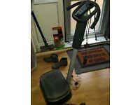 Vibration exercise machine.