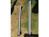 Pair Volvo XC60 official (Thule) roof bars / load carriers