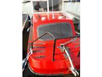 17ft Wilson flyer 40hp suzuki oil injection electric start trailer