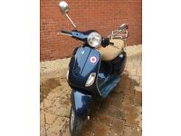 Vespa for sale. Much loved and very cool Vespa in good condition. Brand new battery, runs very well.