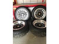 Ford ' Alleycat' JBW wheels 7 x 13