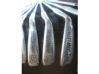 John Letters Irons. (full set- good condition)