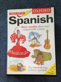 Oxford Spanish home course with x4 CD's and instructions booklet, great condition
