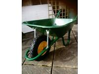 Puncture proof wheelbarrows