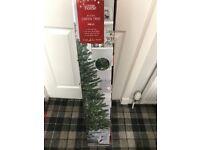 6 foot green prelit tree