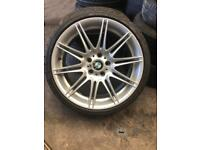 BMW mv3 alloy and 225/35/19 tyre