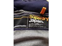 Superdry windcheater. Small. Navy