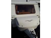 2004/5 Freedom Sunseeker Club Class 3 Berth Micro Touring Caravan