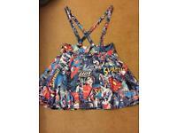 Size 14-16 superman skirt