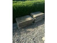 Concrete slabs/ stones
