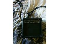 Guitar speaker amp