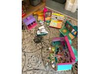 REDUCED Huge amount of animal hospital toys including 5 buildings, vehicles, vets and animals
