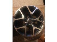 """20"""" Vauxhall Astra GTC VXR wheels"""