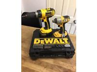 2 Dewalt Drills Boxed Good Condition