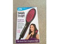 Brand new heated brush