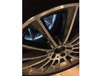 4 x Mercedes-Benz AMG Multi-spoke alloy wheels with Vredestein All-weather tyres NEW!