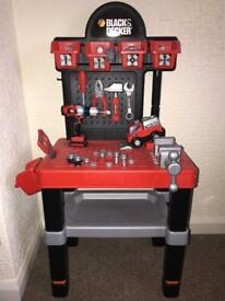 Kids DIY tool bench