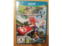 Mario Kart 8! The must have game for the wii u and switch, this game is used but in great condition.