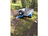 ALL GALVANISED TRAILER 4FT 6 X 3FT 6 X 15 INCHES DEEP.