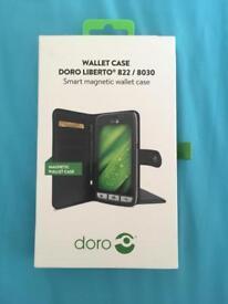 Doro Liberto 822/ 8030 Magnetic Wallet Case Brand New Boxed Unused RRP £21