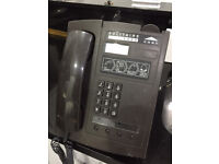 Old vintage pay phone with key suit man cave etc