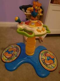 vtech sit to stand dance tower