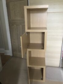 Next Opus Oak Display Unit