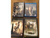 BRAND NEW LOTR DVDS