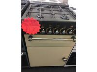 LEISURE 55CM ALL GAS COOKER IN CREAM