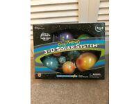 Glowing 3-D Solar System Kit