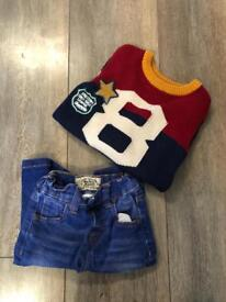 Boys 6-9 month outfit