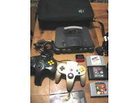 Nintendo 64 N64 + games