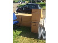 Free wardrobe chair and cabinets