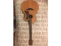 Layke huron semi acoustic guitar cut away
