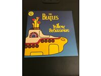 The Beatles Yellow Submarine yellow vinyl