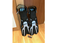 Dive Fins with boots included