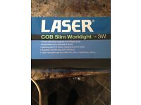 Laser COB Slim Worklight 3W BRAND NEW