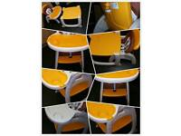 Baby high chair/ table and chair 2 in 1