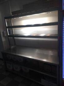 Pizza heat rack and shelves for sale