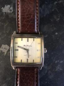 Ben Sherman genuine men's watch with leather strap
