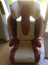 Recardo Monza Car seat for Sale with speakers,