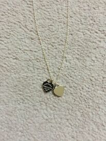 NEW – Return to Tiffany - Mini Double Heart Tag Pendant