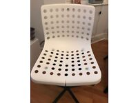 Ikea white chair