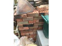 73mm red facing bricks