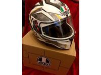 AGV K3 SV, Motorcycle Helmet, Size L