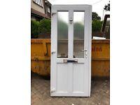PVC door 900 wide 2060 high