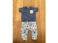 Mothercare baby boy outfit (up to 3 months) hardly worn! Great condition